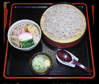 鴨肉つけ麺(そば・うどん)